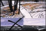Crossroads tapestry detail