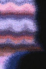 Waiting detail crochet rug