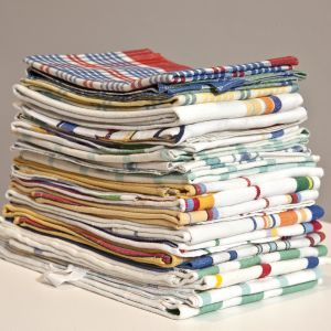 Lawrence stack of tea towels