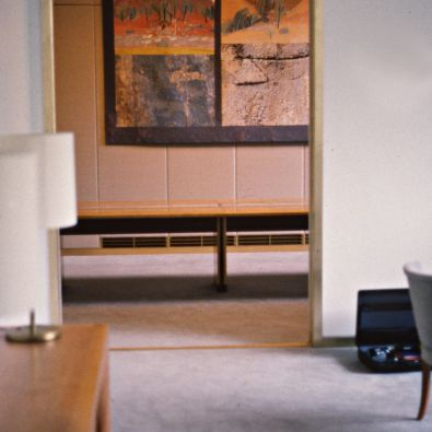 Red Gorge Two Views design and tapestry (2)